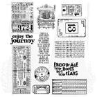 Tim Holtz Cling Rubber Stamps Going Somewhere CMS090