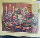 Gold Collection Romantic Floral Counted Cross Stitch Kit 16 x 13
