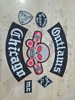 Outlaw Chicago Forgives Biker Patch Embroidered Iron On Rider Full Set Clothing