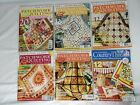 Australian Patchwork  Quilting Australian Country Threads Magazines Lot of 6
