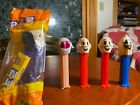 Vintage Pez Dispensers Spooky Lot of 5 - Ghosts Mummy Vampire