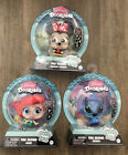 2021 DISNEY DOORABLES Tag Along ARIEL MINNIE MOUSE  STITCH Backpack Clips