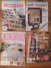 Quilting Magazines Set of 4 Better Homes  Gardens Todays Quilter  World
