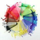 1000PCS Organza Candy Bags Wedding Party Favor Gift Jewelry Pouch Sheer Decor