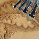 Vintage Craftool Co Smooth Pear Shader Stamp Set 4 Leather Stamping Tools