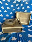 Newcomb Solid State portable suitcase record player EDT 15C Vintage 1970s