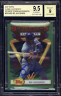 2018 Topps Clearly Authentic 1993 Finest Auto Autograph BO JACKSON BGS 9.5 POP 2