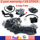 Long Case 150CC GY6 Moped Scooter Engine Motor Electric CVT Auto 4 Stroke Motor
