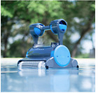 New Dolphin Premier Robotic Pool Cleaner with Powerful Dual Scrubbing Brushes