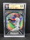 #'d 2 25 Mike Trout 2011 Bowman Sterling ROOKIE RC #22 BLACK REFRACTOR BGS 9.5