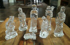 Waterford Crystal Nativity Set 7 Piece Holy Family Kings Shepherd Mint
