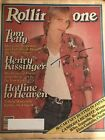 ROCK LEGEND TOM PETTY SIGNED 1980 ROLLING STONE MAGAZINE DAMN THE TORPEDOES