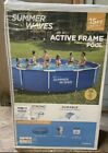 NEW Summer Waves 15 ft x 33 in Active Frame Pool with Filter Pump