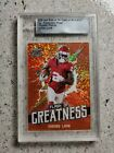 2020 Leaf Flash of Greatness Football Cards 16