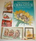 House Mouse Four Seasons Book of Cross Stitch Designs Rare HTF