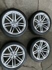 """SET OF GENUINE FORGED AUDI RS6 2013 - 2018 20"""" ALLOY WHEELS 4G0601025CD"""