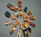 DIECAST LOT OF 20 TRACTORS  CONSTRUCTION EQUIP MOSTLY 164 DIFF MFRS