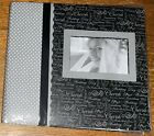 Tapestry by CR Gibson Complete Scrapbook Album 12x12 Wedding Pre designed Pgs