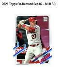2021 Topps On-Demand Set #6: MLB 3D - LOT OF 3 - Factory Sealed Box - IN-HAND
