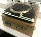 Denon Direct Drive Turntable DP 51F w Box VTG Fully Auto Record Player TESTED