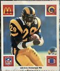 Eric Dickerson Cards, Rookie Card and Autographed Memorabilia Guide 21