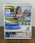 Intex 10ft x 30in Easy Set Up NEW Inflatable Swimming Pool WITH Filter Pump