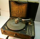 Vintage Wind up Record Player Parts or Repair Silvertone