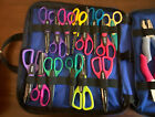 Lot14 Paper Edger Scissors with Fiskars Tote + 5 punches heart star Scrapbook