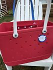 Bogg bag Large original limited edition Stars and Stripes NWT RED WHITE  BLUE