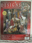 Janlynn Designs For The Needle CHRISTMAS NATIVITY FIGURES 3198 42 xstitch Kit