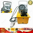 10000 PSI High Pressure Electric Hydraulic Double Circuit Oil Pump  Tubing 110V