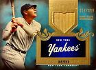 BABE RUTH Topps Tier one game used bat #14 399