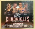 UFC 2015 Topps Chronicles Hobby Box SEALED! 2 Auto, 3 Relic, 400 Cards! McGregor