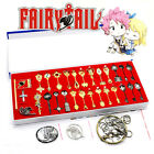 Anime Fairy Tail Zodiac Alloy Keychain Cosplay Props Decoration Collection