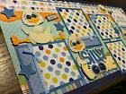 Silly Goose Boy 2 Toddler premade Scrapbook Pages Paper Piecing Diecuts 12x12