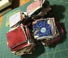 Huge Lot Of 800+ 100 Cotton Quilting Fabric 3 Squares 100s Variety Patterns