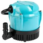Little Giant 500500 1 AA 18 Submersible Cover Pump with 18 Feet Cord 170 GPHblue