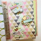 Handmade Embellishment Binder With Rosettes Tags And More Perfect For Crafters