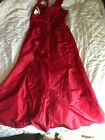 NEW Davids Bridal Gown Dress USA Bridesmaid Prom Pageant Red Apple 81505 Size 16
