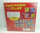 Pattern Play Color By Design 40 Colorful Wood Building Blocks MindWare NEW