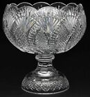 Waterford Crystal Seahorse 125 Punch Bowl 56039 Made In Ireland Very Rare