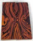 Desert Ironwood bookmatched figured knife scales blanks 52 x 17 x 37 224