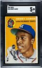 Vintage Topps Hank Aaron Baseball Cards Showcase Gallery and Checklist 71