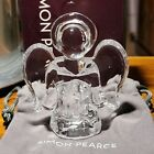 Simon Pearce Handblown Glass Angel Signed Christmas Collectors Approx 4 READ