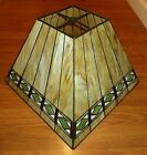 Vintage Tiffany Method Stained Glass Lamp Shade Mission Craftsman Bungalow Style