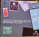 Jerry Garcia Band Pure Jerry Merriweather Post Pavilion 1989 Great Condition