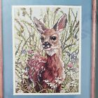 Spring Fawn Elsa Williams Counted Cross Stitch Kit 02122 Sealed