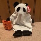 Ty Beanie Baby SHUDDERS  2005  Ghost Bear  with tags