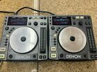 PAIR OF DENON DN S1000 TABLETOP DJ CD PLAYER TURNTABLE SCRATCH