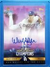 2020 Topps x Ben Baller Los Angeles Dodgers World Series Champions Cards 20